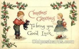 hol015014 - Christmas Postcards Post Card