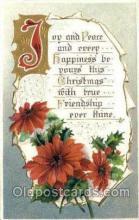 hol015068 - Christmas Postcards Post Card