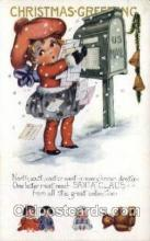 hol015092 - Publisher Whitney Christmas Postcards Post Card