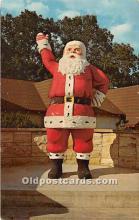hol016130 - Santa Claus Postcard Old Vintage Christmas Post Card