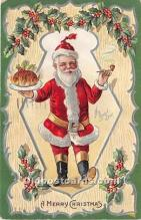 hol016135 - Santa Claus Postcard Old Vintage Christmas Post Card