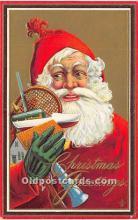 hol016138 - Santa Claus Postcard Old Vintage Christmas Post Card