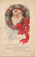 hol016196 - Santa Claus Postcard Old Vintage Christmas Post Card