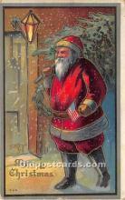 hol016228 - Santa Claus Postcard Old Vintage Christmas Post Card