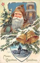 hol016263 - Santa Claus Postcard Old Vintage Christmas Post Card