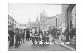 hol016380 - Santa Claus Postcard Old Vintage Christmas Post Card