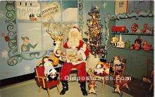 hol016425 - Santa Claus Postcard Old Vintage Christmas Post Card