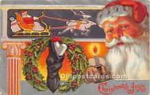 hol016445 - Santa Claus Postcard Old Vintage Christmas Post Card