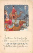 hol017120 - Santa Claus Postcard Old Vintage Christmas Post Card
