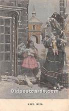 hol017158 - Santa Claus Postcard Old Vintage Christmas Post Card