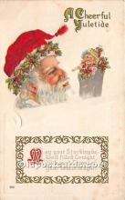hol017232 - Santa Claus Postcard Old Vintage Christmas Post Card