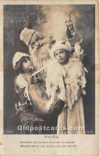 hol017471 - Santa Claus Postcard Old Vintage Christmas Post Card