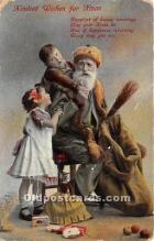 hol017473 - Santa Claus Postcard Old Vintage Christmas Post Card
