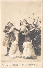 hol017480 - Santa Claus Postcard Old Vintage Christmas Post Card