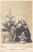 hol017481 - Santa Claus Postcard Old Vintage Christmas Post Card