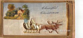 hol017550 - Santa Claus Postcard Old Vintage Christmas Post Card