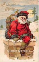 hol017583 - Santa Claus Postcard Old Vintage Christmas Post Card