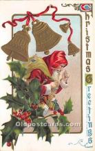 hol017777 - Santa Claus Postcard Old Vintage Christmas Post Card