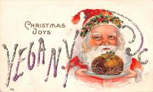 hol018053 - Santa Claus Christmas Old Vintage Antique Postcard