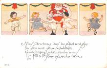 hol018281 - Santa Claus Christmas Old Vintage Antique Postcard