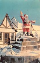 hol018403 - Santa Claus Christmas Old Vintage Antique Postcard