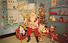 hol018447 - Santa Claus Christmas Old Vintage Antique Postcard