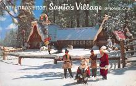 hol018559 - Santa Claus Christmas Old Vintage Antique Postcard