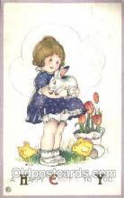 hol030030 - Artist Margaret Evans Price, Easter Postcard Postcards