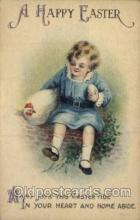 hol030061 - Artist Ellen Clapsaddle, Happy Easter Postcard Post Cards