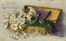 hol030092 - Artist Ellen Clapsaddle, Happy Easter Postcard Post Cards
