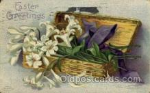 hol030111 - Artist Ellen Clapsaddle, Happy Easter Postcard Post Cards