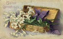 hol030112 - Artist Ellen Clapsaddle, Happy Easter Postcard Post Cards