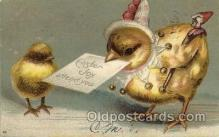 hol030117 - Artist Ellen Clapsaddle, Happy Easter Postcard Post Cards