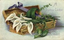 hol030121 - Artist Ellen Clapsaddle, Happy Easter Postcard Post Cards