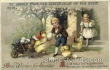 hol030124 - Artist Ellen Clapsaddle, Happy Easter Postcard Post Cards