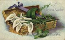 hol030134 - Artist Ellen Clapsaddle, Happy Easter Postcard Post Cards