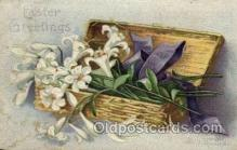hol030138 - Artist Ellen Clapsaddle, Happy Easter Postcard Post Cards