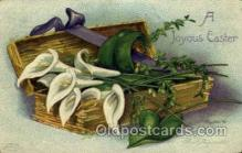 hol030140 - Artist Ellen Clapsaddle, Happy Easter Postcard Post Cards