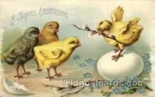 hol030150 - Artist Ellen Clapsaddle, Happy Easter Postcard Post Cards