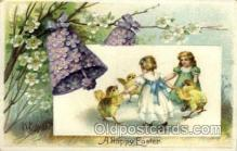 hol030155 - Artist Ellen Clapsaddle, Happy Easter Postcard Post Cards