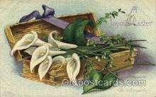 hol030165 - Artist Ellen Clapsaddle, Happy Easter Postcard Post Cards
