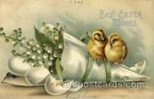 hol030171 - Artist Ellen Clapsaddle, Happy Easter Postcard Post Cards