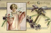 hol030175 - Artist Ellen Clapsaddle, Happy Easter Postcard Post Cards