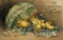 hol030180 - Artist Ellen Clapsaddle, Happy Easter Postcard Post Cards