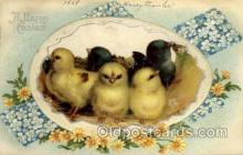 hol030183 - Artist Ellen Clapsaddle, Happy Easter Postcard Post Cards