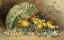 hol030184 - Artist Ellen Clapsaddle, Happy Easter Postcard Post Cards