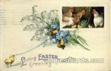 hol030193 - Artist Ellen Clapsaddle, Happy Easter Postcard Post Cards