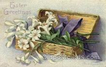 hol030194 - Artist Ellen Clapsaddle, Happy Easter Postcard Post Cards