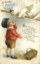 hol030217 - Artist Ellen Clapsaddle, Happy Easter Postcard Post Cards