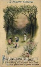 hol030220 - Artist Ellen Clapsaddle, Happy Easter Postcard Post Cards